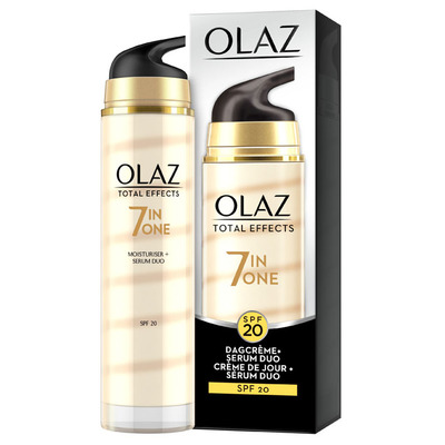 Olaz Total effects dagcrème + serum SPF20