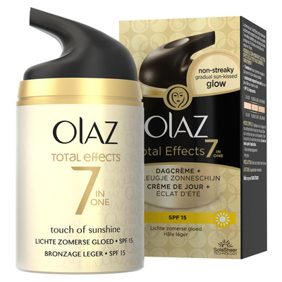 Olaz Total effects dagcrème + zonbruiner