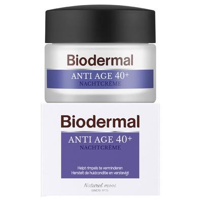 Biodermal Anti-age 40+ nachtcrème