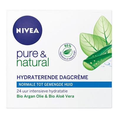 Nivea Pure & natural dagcreme normaal