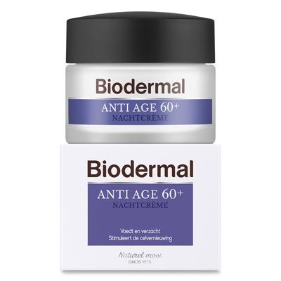 Biodermal Anti-age 60+ nachtcrème