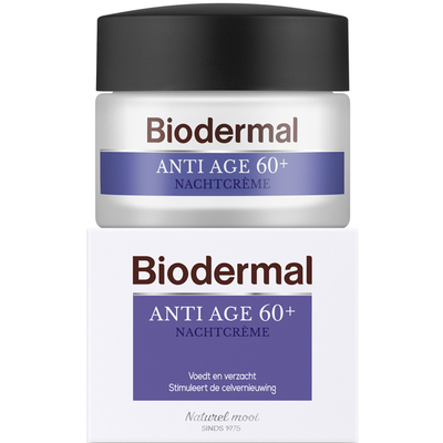 Biodermal Anti-age 60+ nachtcrème