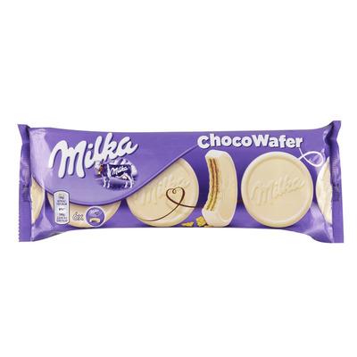 Milka Wafels chocowafer wit