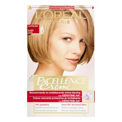 L'Oréal Excellence crème 08 lichtblond