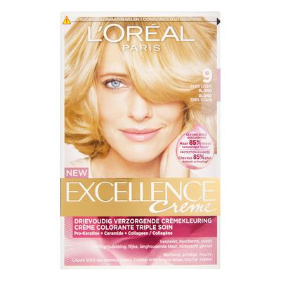 L'Oréal Excellence crème 09 zeer lichtblond