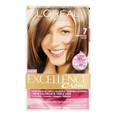L'Oréal Excellence crème 07 middenblond