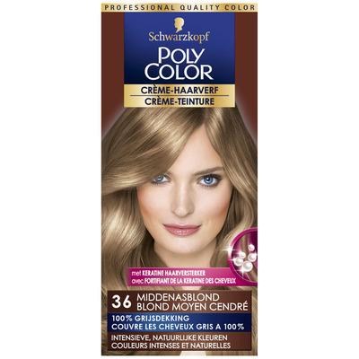 Schwarzkopf Poly color crème haarverf middenasblond