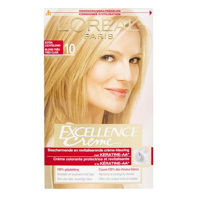 L'Oréal Excellence crème 10 extra lichtblond