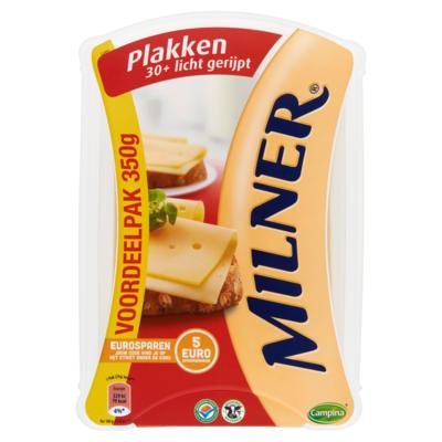Milner 30+ Licht gerijpt voordeelpak gesneden