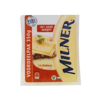 Milner 30+ licht gerijpt plakken voordeel