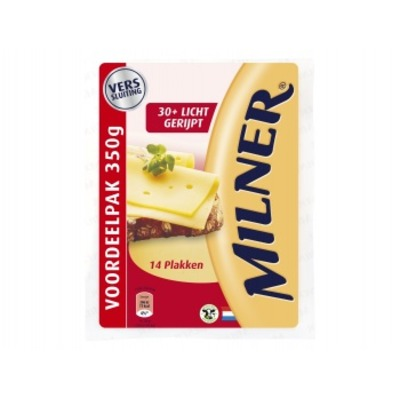 Milner Milner Licht gerijpt 30+ voordeelverpakking