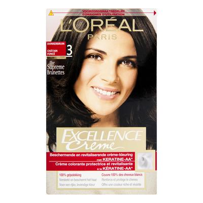 L'Oréal Excellence crème 03 donkerbruin