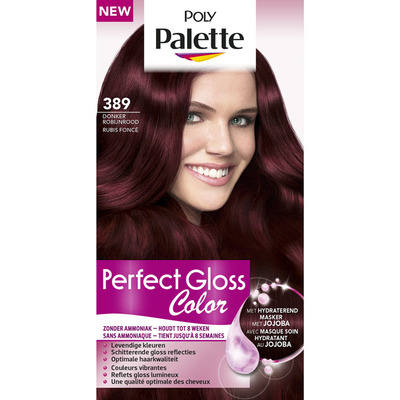 Poly Palette Perfect gloss 389 donker robijn