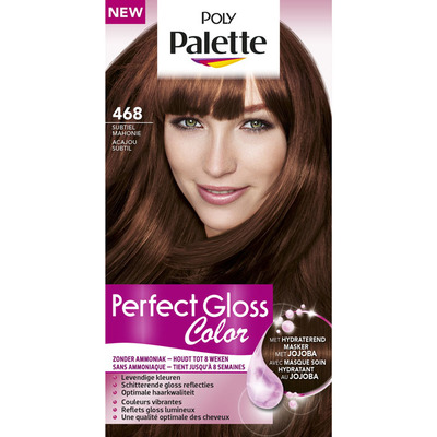 Poly Palette Perfect gloss 468 subtiel mahonie