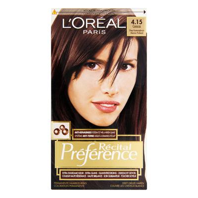 L'Oréal Préférence diep kastanjebruin 4.15