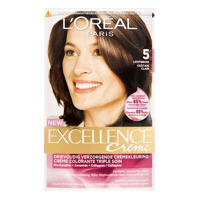 L'Oréal Excellence crème lichtbruin 5