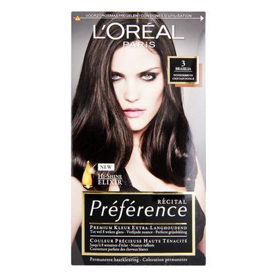 L'Oréal Préférence donkerbruin 3