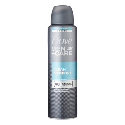 Dove Men + care deodorant clean comfort