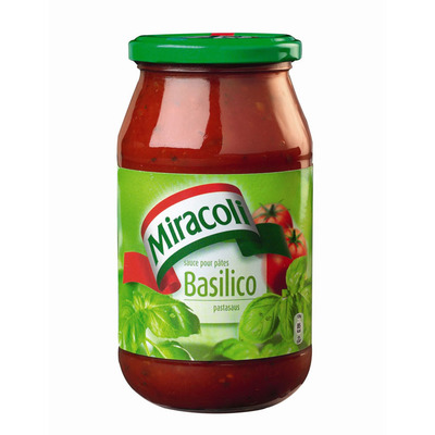 Miracoli Pastasaus basilico