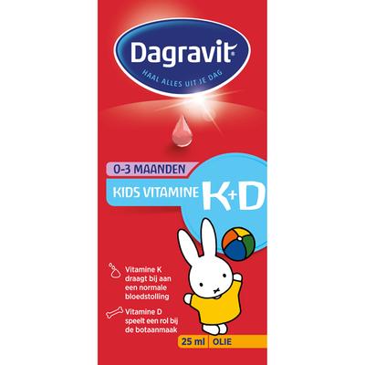 Dagravit Vitamine K&D druppels