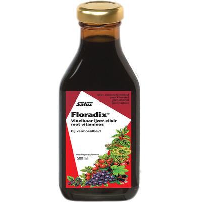 Floradix Vloeibaar ijzer-elixir met vitamines