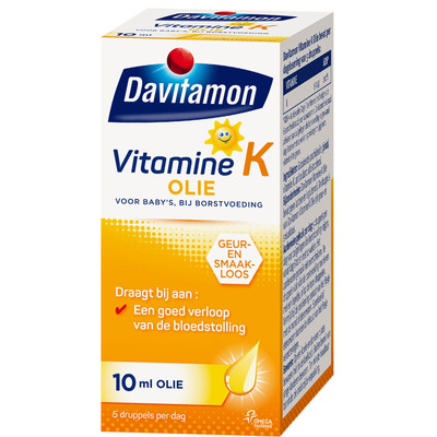 Davitamon Vitamine K olie voor baby's