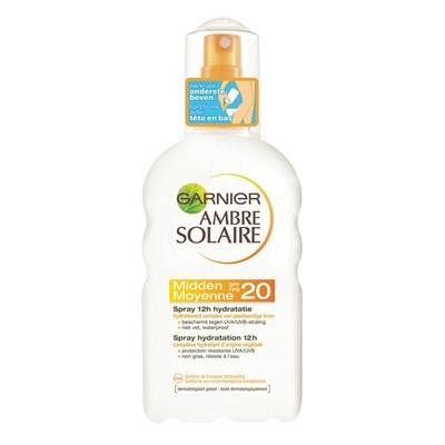 Ambre Solaire Zonnebrand Spray Factor 20