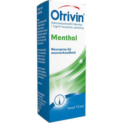 Otrivin XylometazolineHCI 1 mg/ml Menthol