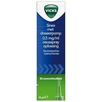 Vicks Sinex neusspray met doseerpomp