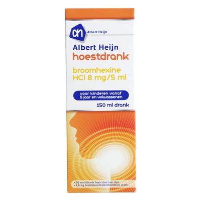 Huismerk Hoestdrank broomhexine HCl 8 mg/5 ml