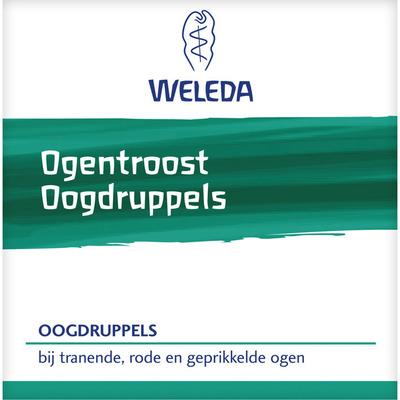 Weleda Ogentroost oogdruppels ampullen 10x0,4ml