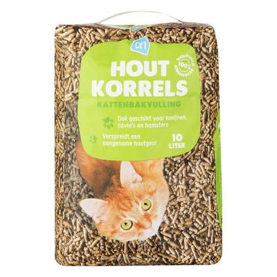 Huismerk Kattenbak houtkorrels