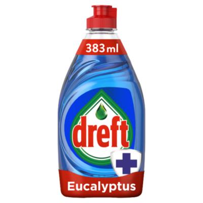 Dreft Afwasmiddel extra hygiene eucalyptus