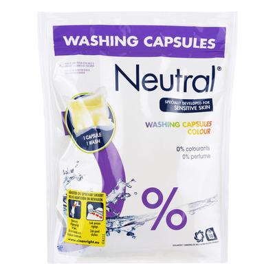 Neutral Wasmiddel capsules kleur