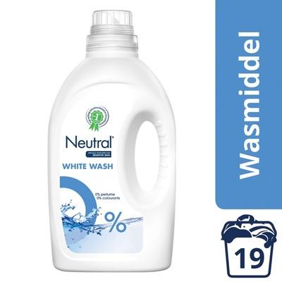 Neutral wasmiddel vloeibaar wit