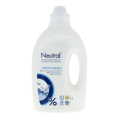 Neutral Wasmiddel vloeibaar parfumvrij wit