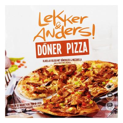 Lekker&Anders Döner pizza