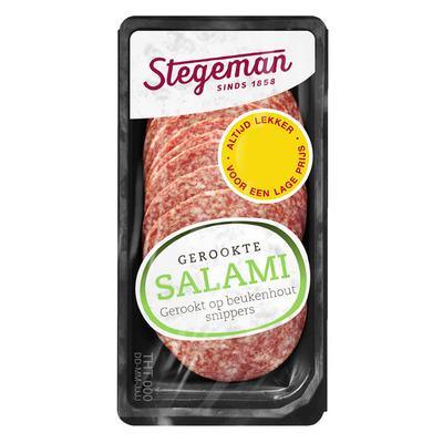 Stegeman Gerookte salami met look