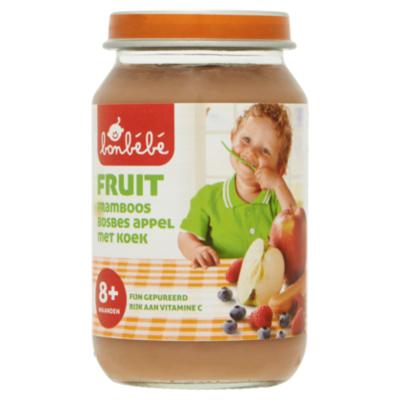 Huismerk 8+ Abrikoos appel peer koek