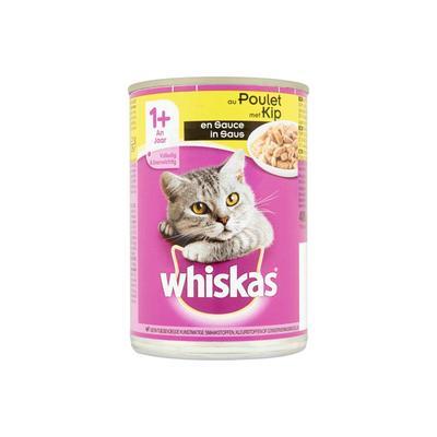 Whiskas Met Kip In Saus 1+ Jaar 400 G