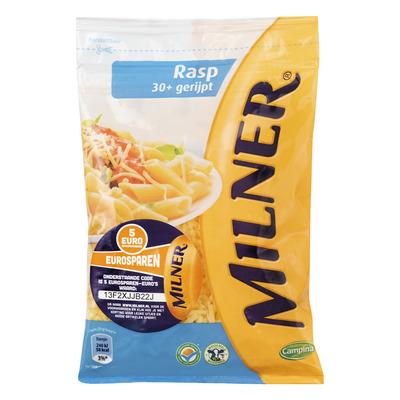Milner Gerijpt geraspte kaas
