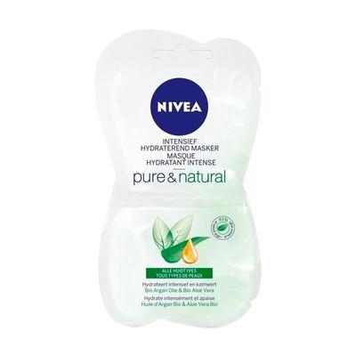 Nivea Pure & Natural Intensief Hydraterend Masker