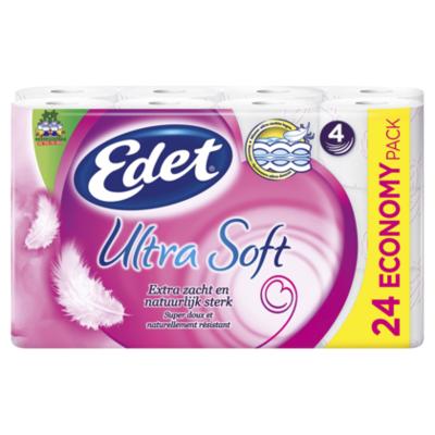 Edet Ultra Soft Toiletpapier 4-lgs 1x24