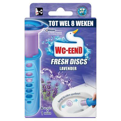 Wc-eend Fresh Discs Lavendel