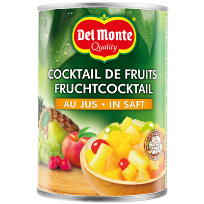 Del Monte Fruitcocktail op sap
