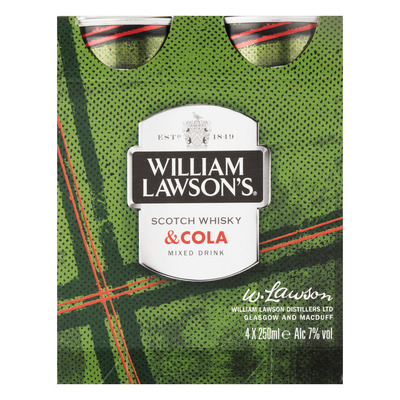 William Lawson's Whiskey & cola
