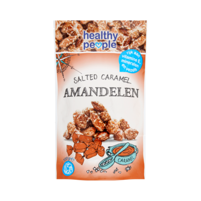 Healthy People Salted Caramel Amandelen
