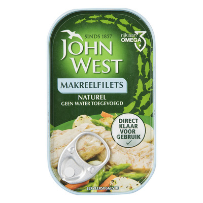 John West Makreelfilet naturel