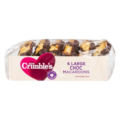 Mrs Crimble's Chocolade macronen glutenvrij
