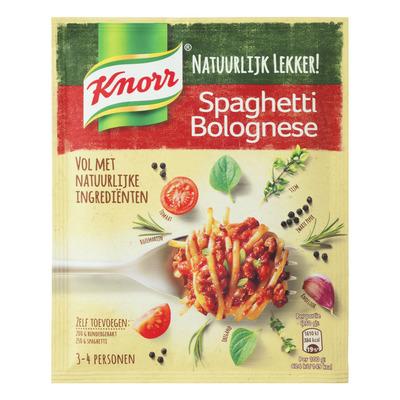 Knorr Natuurlijk lekker spaghetti bolognese